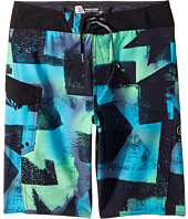 Volcom Kids - Costa Paste Up Mod Boardshort (Big Kids)