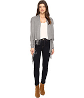 Christin Michaels - Evelyn Fringed Wrap Cardigan
