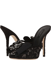 Dolce & Gabbana - Lace Bow 105mm Slide
