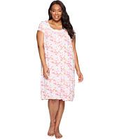 Eileen West - Plus Size Modal Spandex Waltz Nightgown