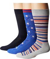 HUE - Baseball Socks with Half Cushion 3-Pack