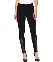 HUE - Laser Cut Panels Blackout Leggings