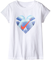 Nike Kids - Step Gradient Heart Core Short Sleeve Tee (Little Kids)