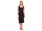 Elisa Sleeveless Button Up Dress with Twist Detail