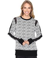 Blanc Noir - Texture Sweatshirt