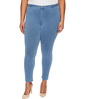 HUE - Plus Size Super Smooth Denim Leggings