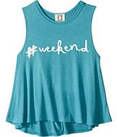 People's Project LA Kids - Hashtag Weekend Tank Top (Big Kids)