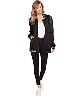 Blank NYC - Long Bomber with Black & White Rib Details in Power Play