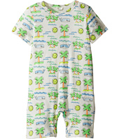 Stella McCartney Kids - Kit Fluro Beach Print All-In-One (Infant)