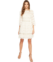 Vince Camuto - Lace Elbow Sleeve Fit and Flare Dress
