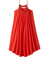 Stella McCartney Kids - Hope Flowing Crepe Dress w/ Beaded Neckline (Toddler/Little Kids/Big Kids)