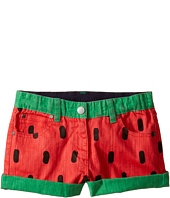 Stella McCartney Kids - Hula Watermelon Denim Shorts (Toddler/Little Kids/Big Kids)
