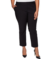 Vince Camuto Specialty Size - Plus Size Front Zip Ankle Pants