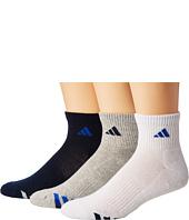adidas - Cushioned Color 3-Pack Quarter Socks