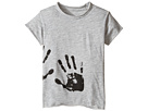 Hand Print Raw T-Shirt (Infant/Toddler/Little Kids)
