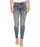 Blank NYC - Denim Mid-Rise Distressed Skinny in Game Over