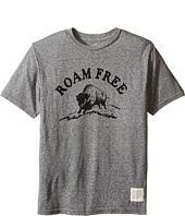 The Original Retro Brand Kids - Roam Free Short Sleeve Tri-Blend Tee (Big Kids)