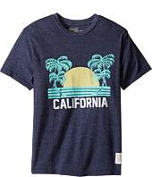 The Original Retro Brand Kids - California Short Sleeve Tri-Blend Tee (Big Kids)