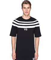 adidas Y-3 by Yohji Yamamoto - M 3 Stripe Short Sleeve Tee