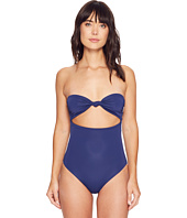 Mara Hoffman - Solid Knit Front Bandeau One-Piece