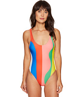 Mara Hoffman - Beach Ball High Cut Maillot