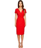 ESCADA - Dsipora Short Sleeve Wrap Dress