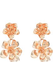 Oscar de la Renta - Bold Flower Drop C Earrings