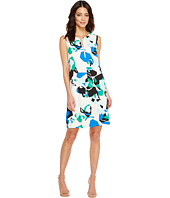 Calvin Klein - Sleeveless Printed Sheath with Zipper