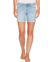 Liverpool - Vickie Shorts Frayed in Vintage Super Comfort Stretch Denim in Mandalay Light