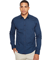 Scotch & Soda - Classic Long Sleeve Shirt in Crispy Poplin Quality