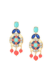 Kate Spade New York - Jeweled Tile Statement Earrings
