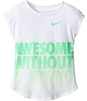 Nike Kids - Awesome Without Trying Modern Short Sleeve Tee (Toddler)