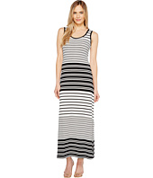 Calvin Klein - Sleeveless Stripe Maxi Dress