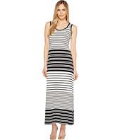 Calvin Klein - Sleeveless Stripe Maxi Dress