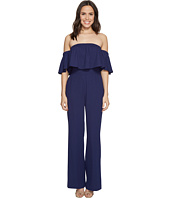 Vince Camuto - Crepe Off the Shoulder Jumpsuit