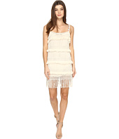 Nicole Miller - La Plage By Nicole Miller Bobo Fringe Twofer Cover-Up Dress