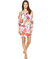 Nicole Miller - La Plage By Nicole Miller Braided Mini Tank Dress Cover-Up