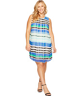Calvin Klein Plus - Plus Size Printed A-Line Dress