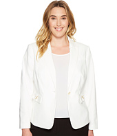 Calvin Klein Plus - Plus Size Single Button Jacket with Hardware