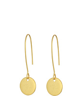 LAUREN Ralph Lauren - Metal Disk French Wire Drop Earrings