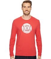 Life is Good - Vintage Baseball Life Is Good® Long Sleeve Smooth Tee