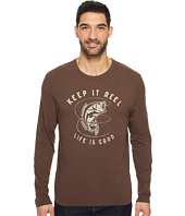 Life is Good - Keep It Reel Bass Long Sleeve Smooth Tee