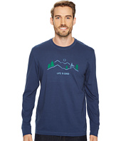 Life is Good - Mountain Bike Vista Long Sleeve Crusher Tee