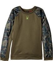 Spyder Kids - Hybrid Pullover Top (Big Kids)