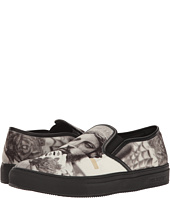 Neil Barrett - Tattoo Statue Canavs Slip-On
