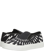 Neil Barrett - Thunderbolt Canvas Slip-On