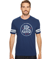 Life is Good - Life Is Good® Star Stamp Vintage Sport Tee