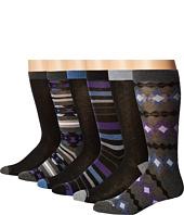 Steve Madden - 6-Pack Fashion Crew Socks - Pattern