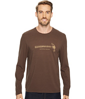 Life is Good - Handheld Device Hammer Long Sleeve Smooth Tee