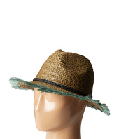 Scotch & Soda - Raffia Beach Hat w/ Embroidered Artwork